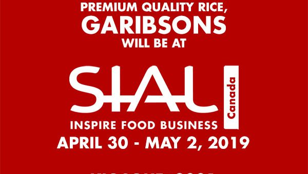 Garibsons Exhibits at SIAL Canada 2019